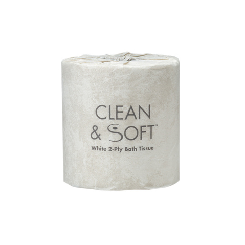 Clean Soft 2 Ply Toilet Tissue More At MeyerDCTM