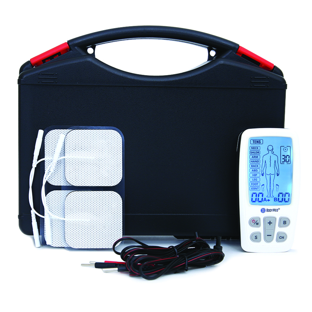 BodyMed® TENS/EMS/Massager Combo with Body Part Diagram