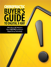 Chiropractic Buyer's Guide to Digital X-ray
