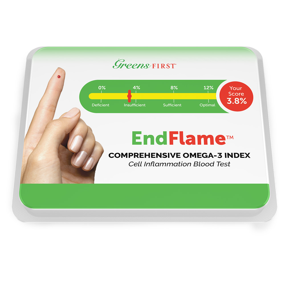 Greens First® EndFlame™ Chronic Inflammation Test Kit