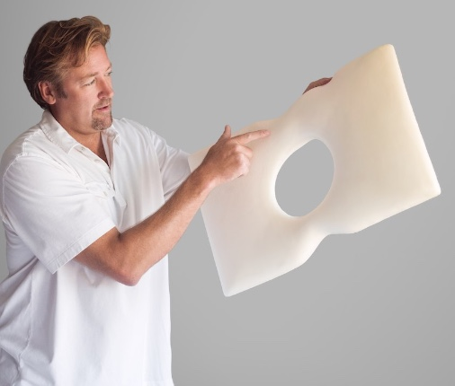 Proper Pillow Inventor Doctor Rick Loos