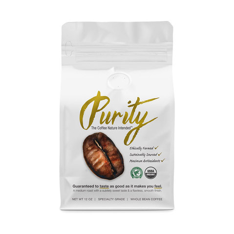 Purity Coffee provides maximum health benefits and antioxidants while minimizing harmful compounds.